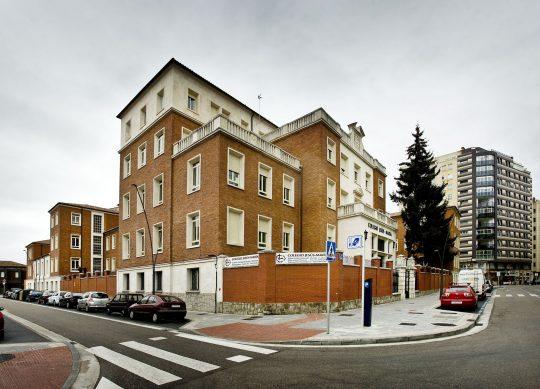 Exterior, Colegio Jesús María, fotos de fachada e interiores para un anuncio de publicidad,